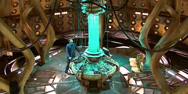 Interior Tardis Doctor Who