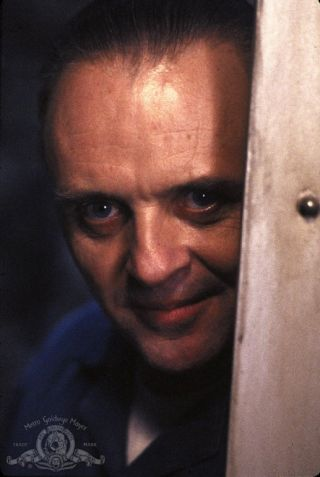 "Anthony Hopkins as Hannibal Lecter, a serial killer in the 1991 film ""The Silence of the Lambs."" Credit: MGM"