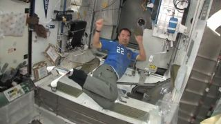 Astronauts Hold Winter Olympics in Space