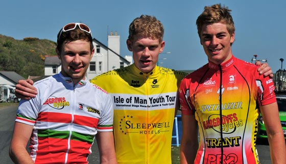 Doull, Slater, Dibben, Isle of Man Youth Tour 2011