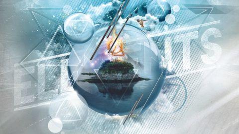 Cover art for Orestea - Elements album