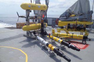 Autonomous underwater robots, robotics