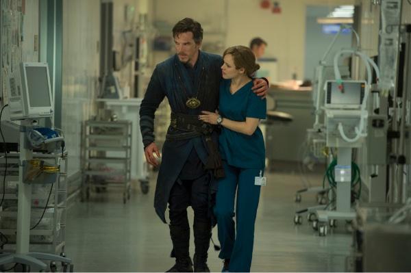 Rachel McAdams in Doctor Strange