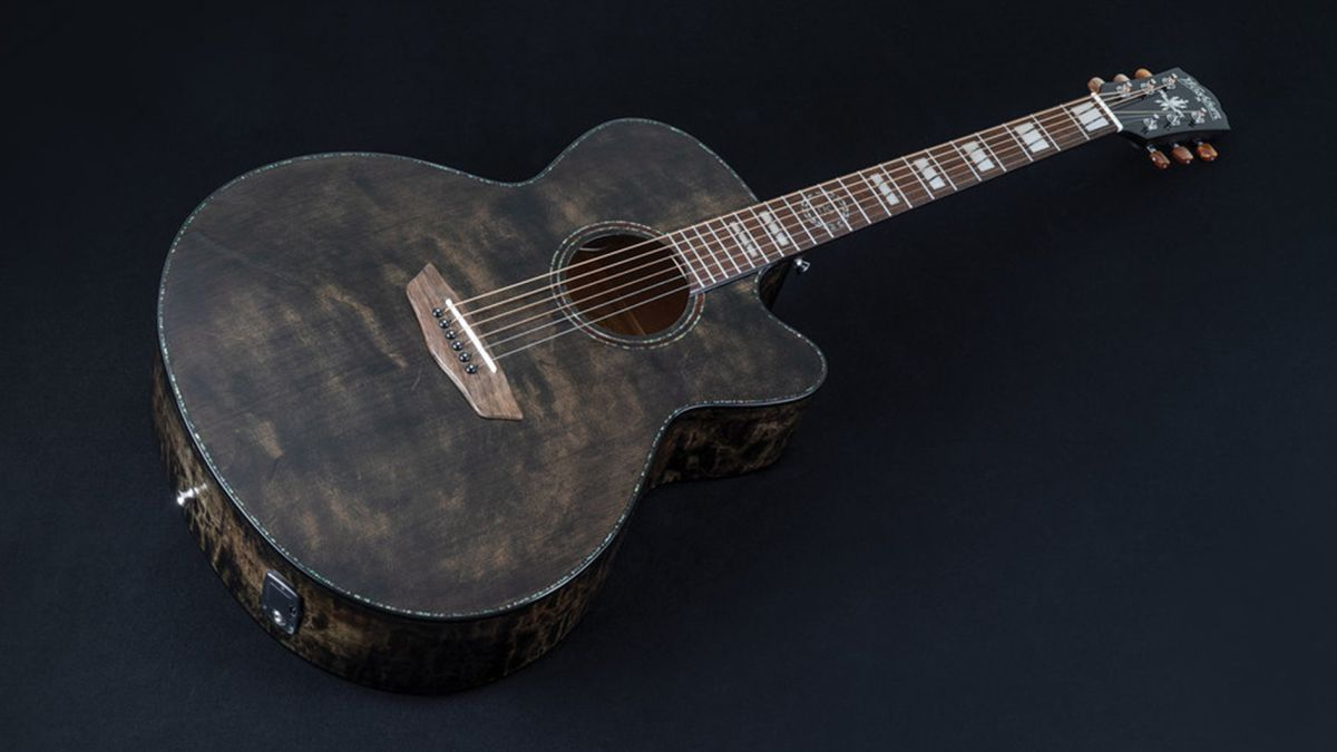 NAMM 2020: Washburn unveils the striking new Michael Sweet signature acoustic guitar
