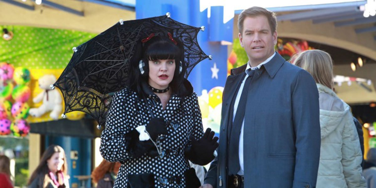 Anthony DiNozzo and Abby Sciuto on NCIS are friends in real life.