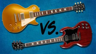 Les Paul vs SG: Gibson's two greatest solid body electric guitars battle it out