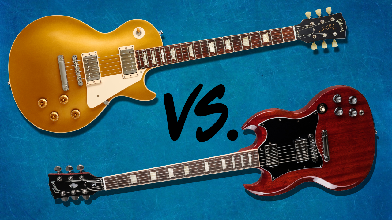 Les Paul Vs Sg Gibson S Two Greatest Solid Body Electric Guitars Battle It Out Musicradar