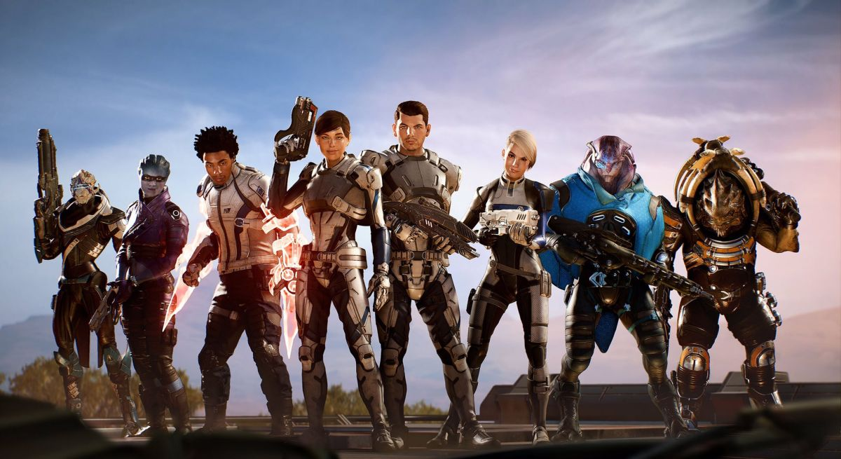 Soldier build mass effect andromeda