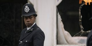 John Boyega as Leroy Logan in Small Axe Red, White and Blue