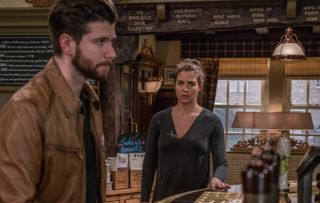 Gemma Atkinson as Carly Hope in Emmerdale