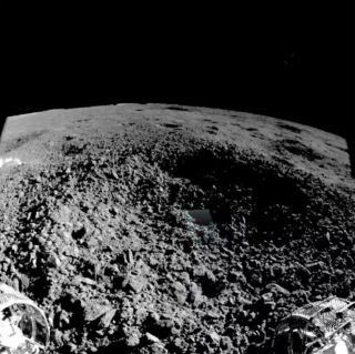 China's Lunar Rover Scopes Out Weird Substance on Far Side of the Moon (Photos)