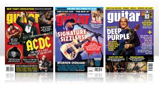 Australian Guitar magazine covers
