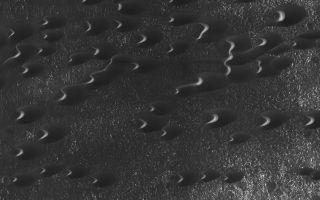 Mars' sand dunes