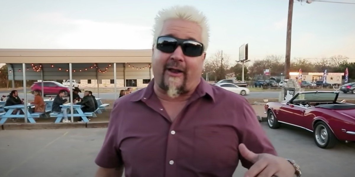 Guy Fieri on Diners, Drive-Ins and Dives
