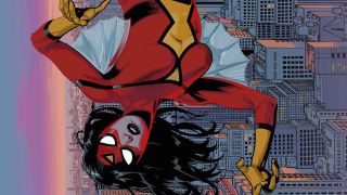 art from Spider-Woman #11