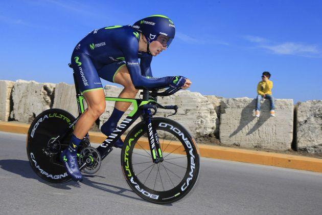 Adriano Malori wins stage seven of the 2014 Tirreno Adriatico
