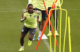 Manchester City Training Session and Press Conference – CFA