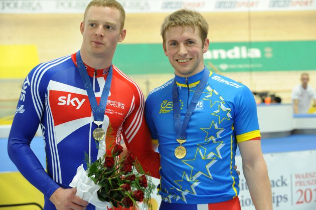Matt Crampton and Jason Kenny, European Track Championships 2010