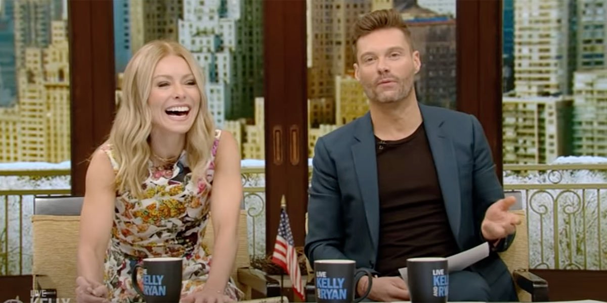 Live with Kelly and Ryan furniture set up 2019