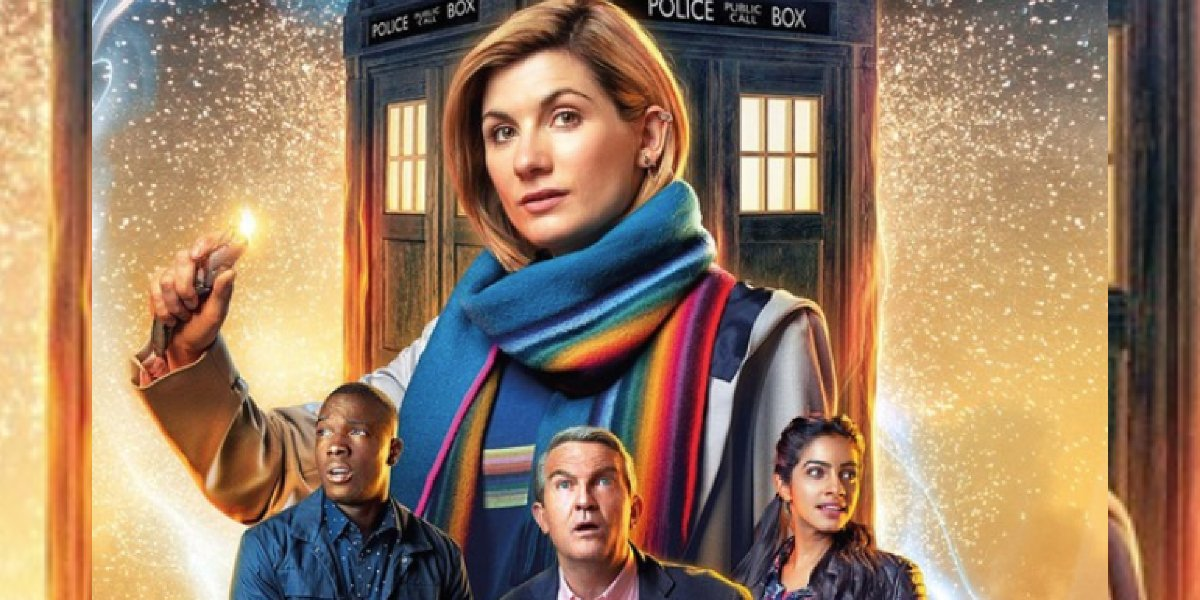 Doctor Who Thirteen and her companions