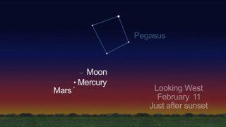 Pink Mercury in Sky