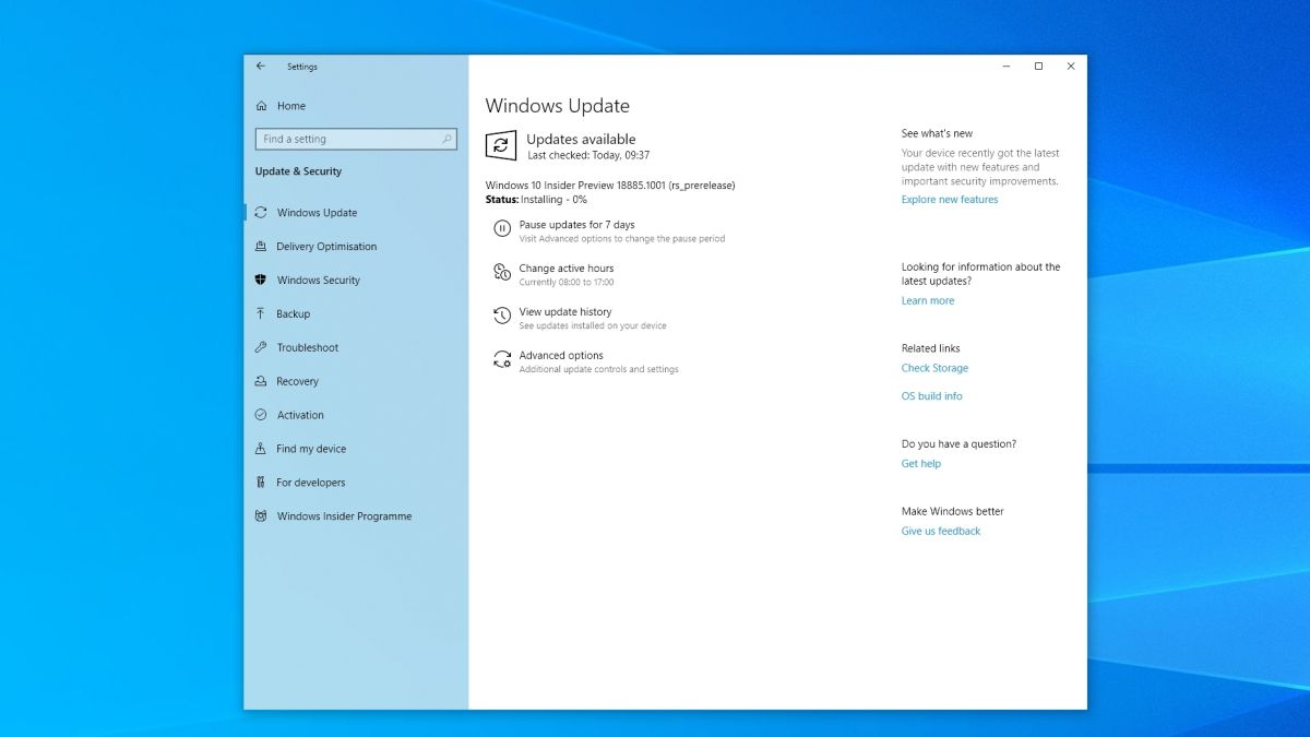 How to update Windows 10 to the Windows 10 May 2019 Update  | TechRadar