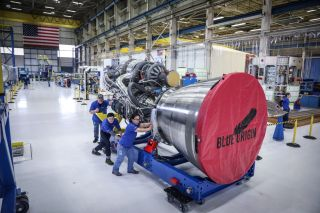 Blue Origin's First BE-4 Engine