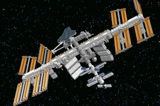 Fans have voted for Christoph Ruge's International Space Station model to become a Lego toy set.