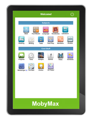 Moby Math Tablet Giveaway to One Lucky Reader