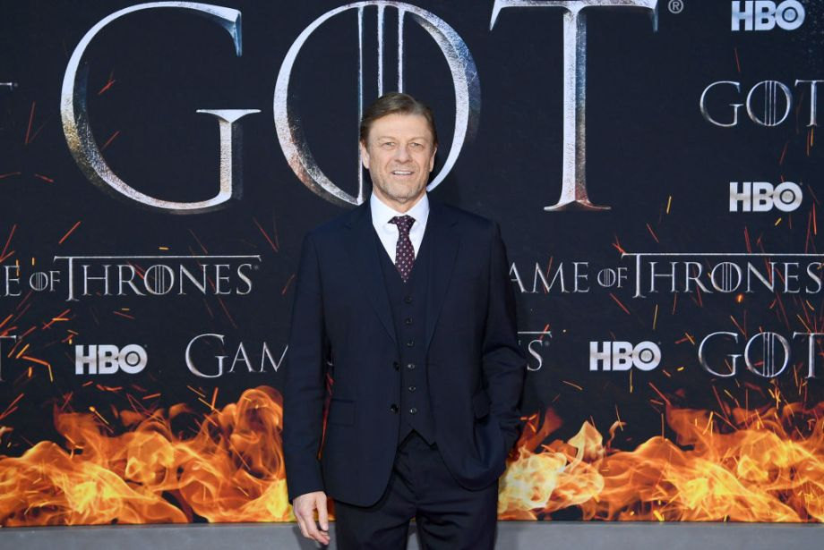 Sean Bean at Game of Thrones premiere