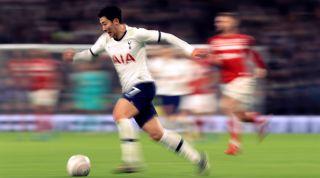 Son Heung Min, Tottenham