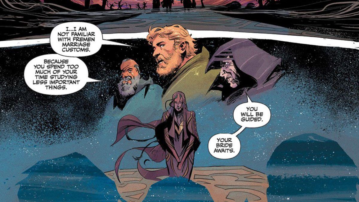 Witness a genuine Arrakis wedding in Dune: House Atreides #7 preview