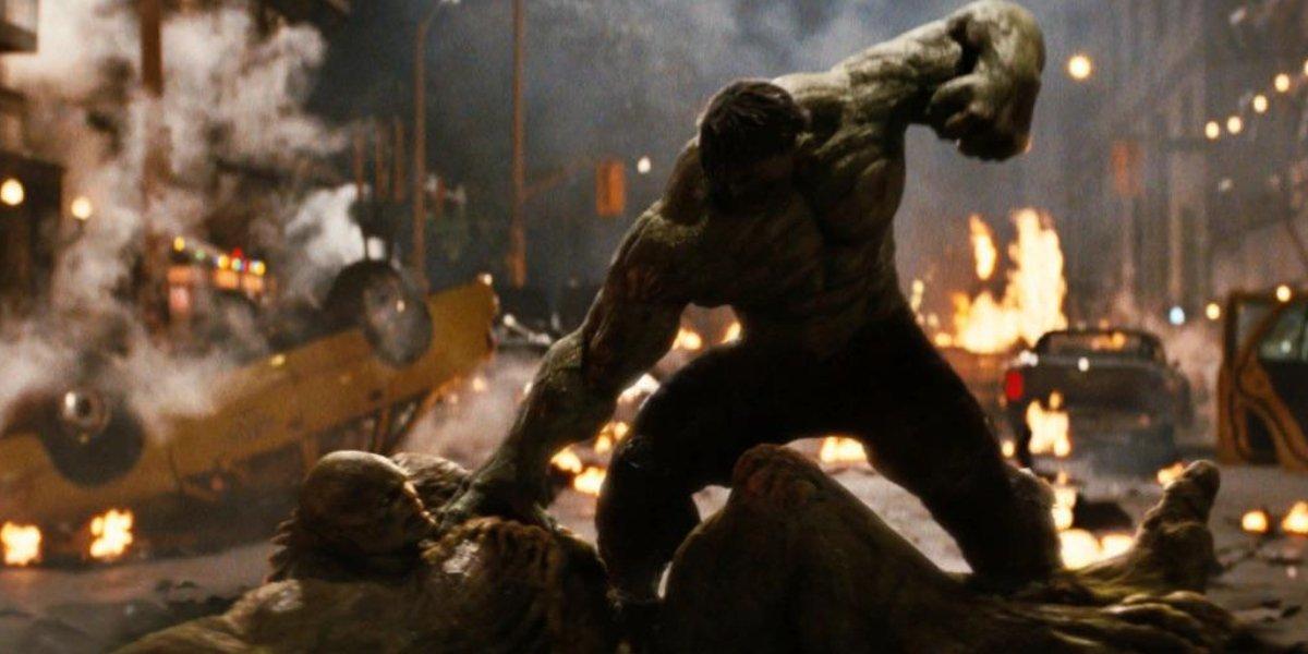 Tim Roth and Edward Norton in The Incredible Hulk