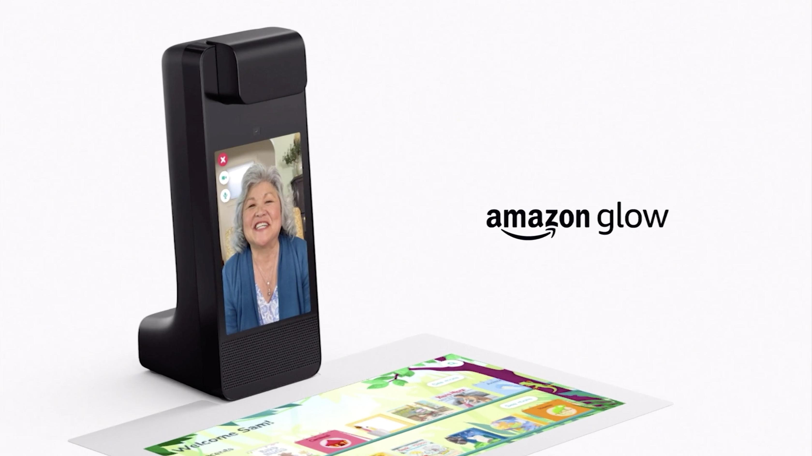 Amazon Glow debuts at Amazon event
