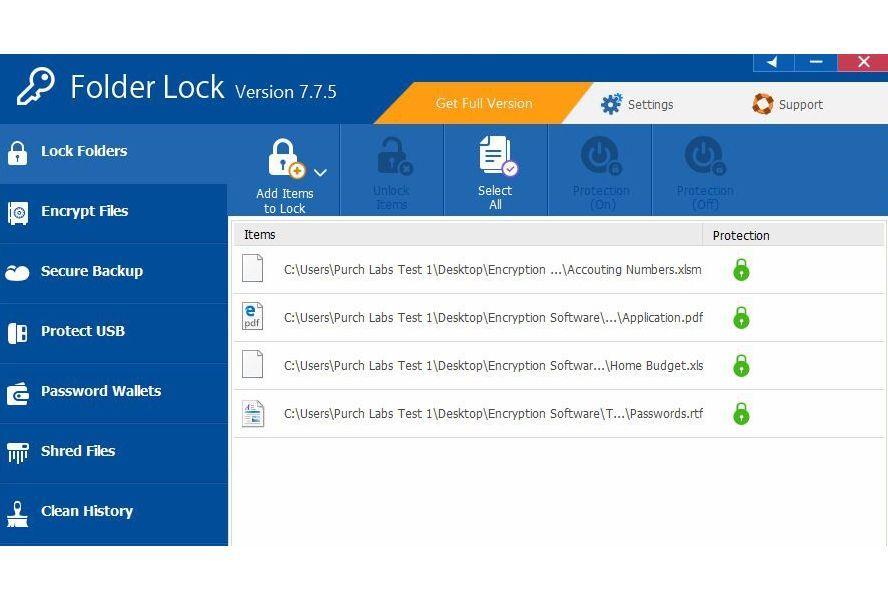 Folder Lock 7 6 1 Review - Pros, Cons and Verdict   Top Ten