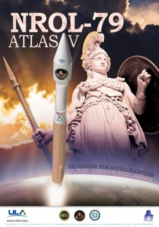 NROL-79 Mission Poster