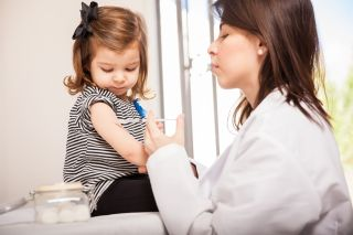 Childhood vaccines can protect against some diseases for a lifetime.
