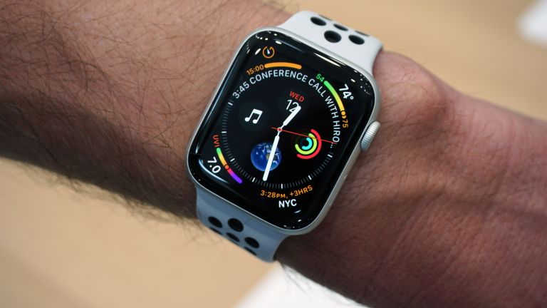 What can Apple's newest smartwatch do if you fall down?