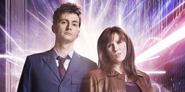 The Doctor Donna David Tennant Donna Noble Doctor Who The BBC