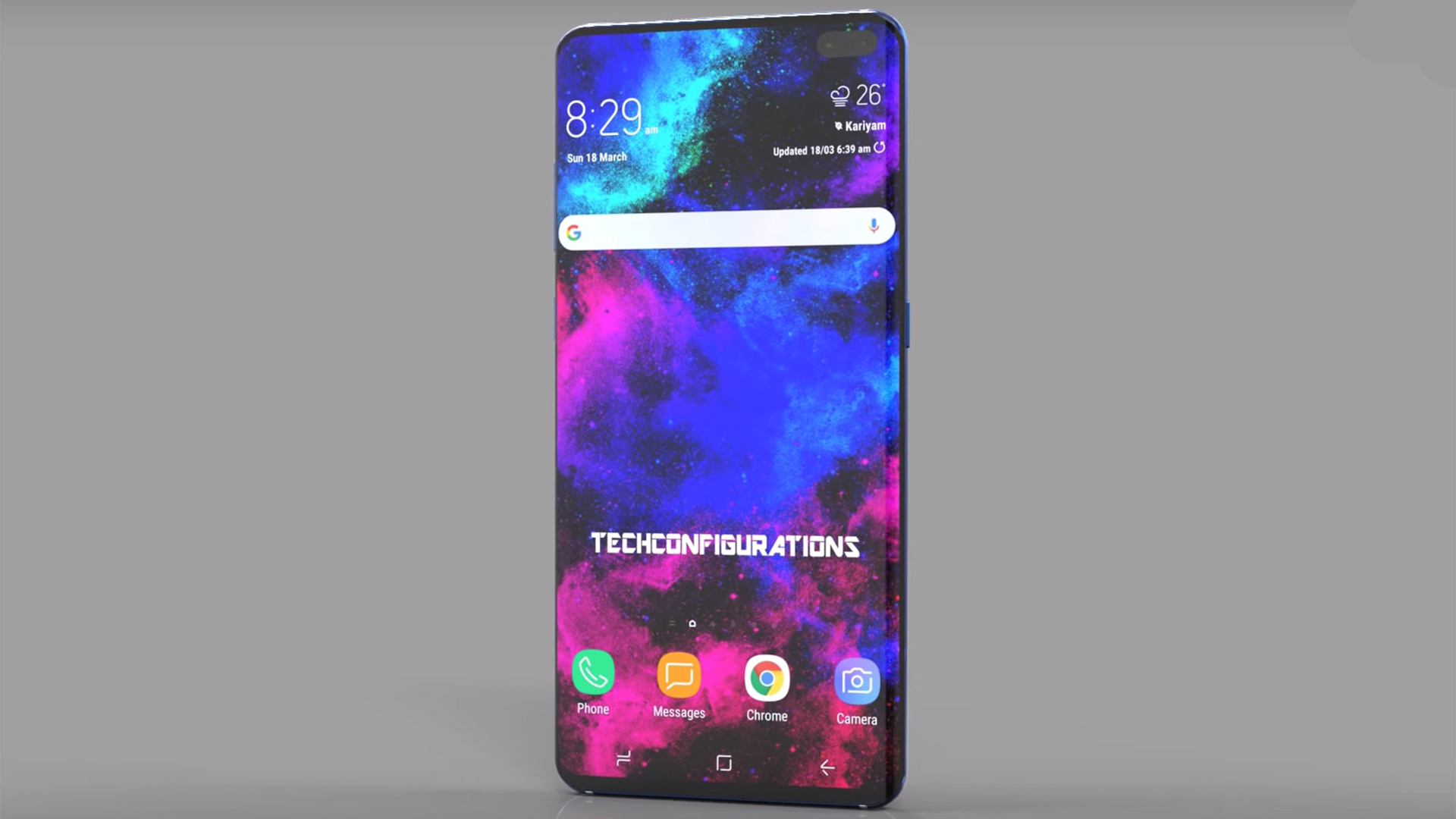 New Samsung Galaxy S10 Plus Video Shows Off Dual Front Cameras Quad Rear Snappers And More T3