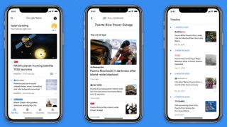 Google News app for iOS