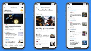 Google News app for iOS