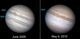 Jupiter Has Lost a Cloud Stripe, New Photos Reveal