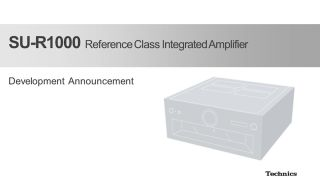 Technics teases SU-R1000 Reference Class integrated amplifier