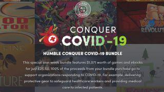 Humble Bundle vs coronavirus