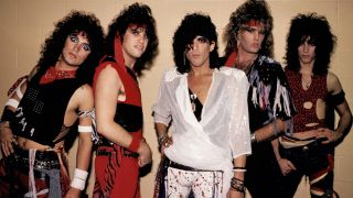 The original Ratt lineup in the 80s