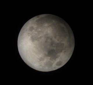 Penumbral Lunar Eclipse 2012 David Matthews 2