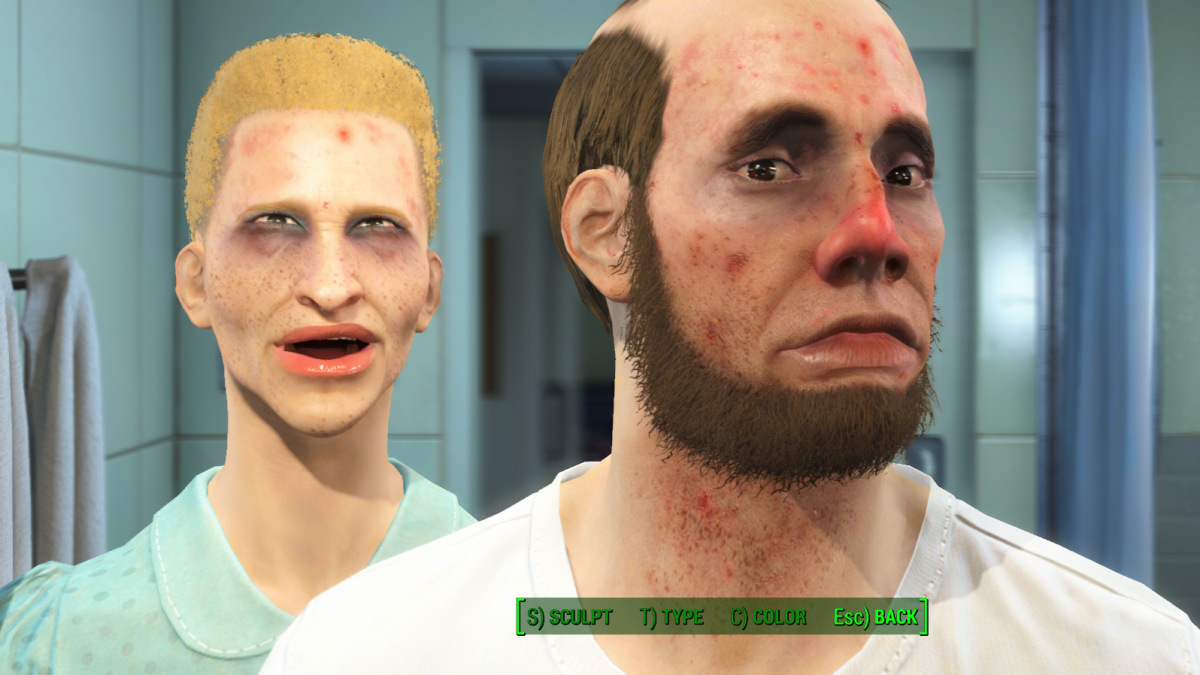 Show us your best (or worst!) Fallout 4 faces   PC Gamer