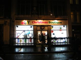 In pictures: eBay christmas botique shop