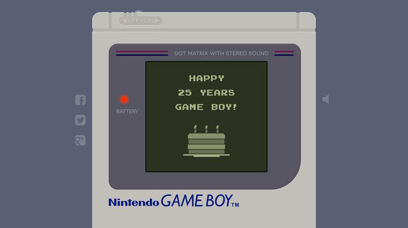 parallax scrolling site aptly celebrates the nintendo game boy